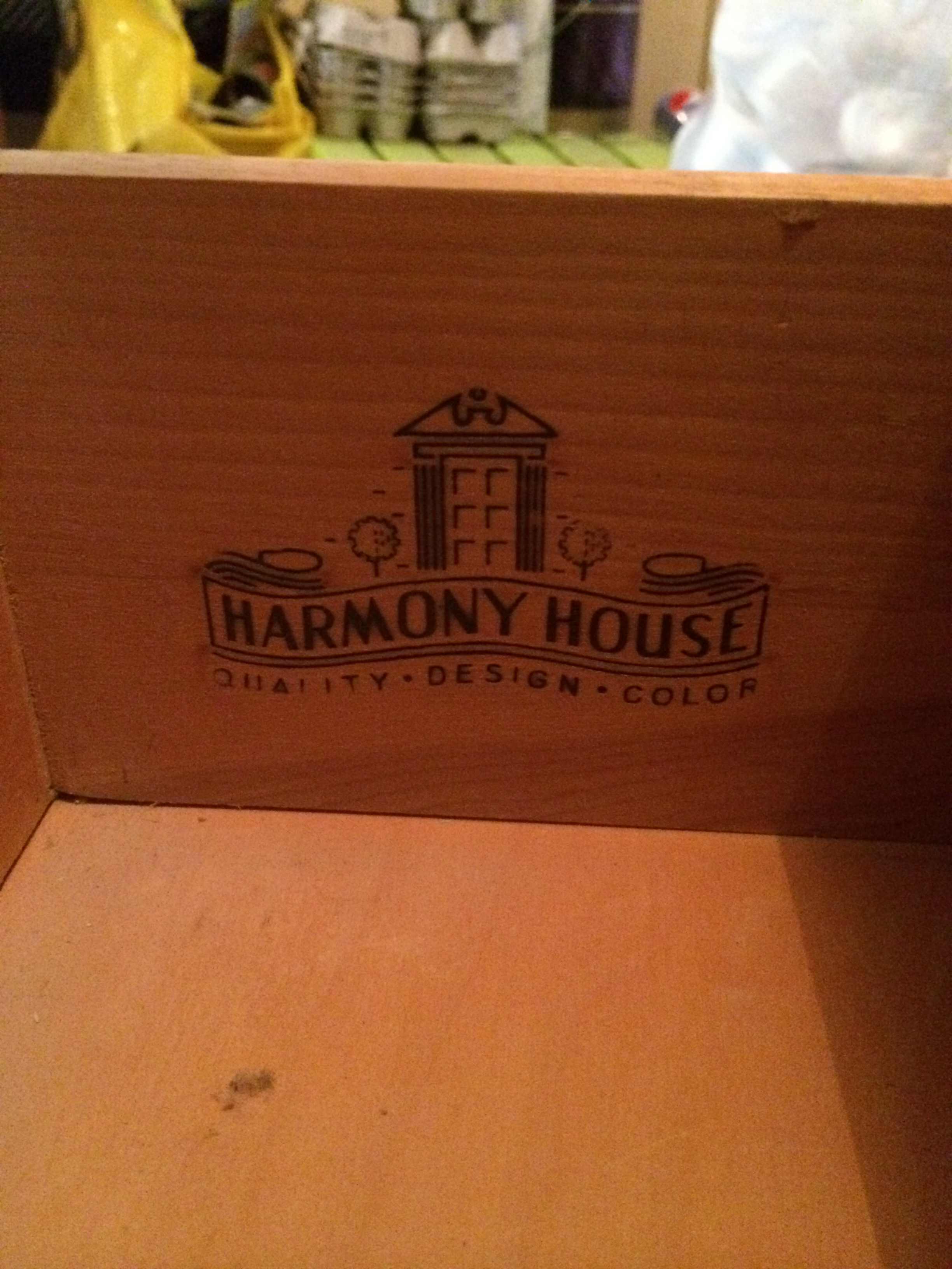 Vintage, Drawer Stamp, Harmony House, Project, DIY, Chalk Paint Project