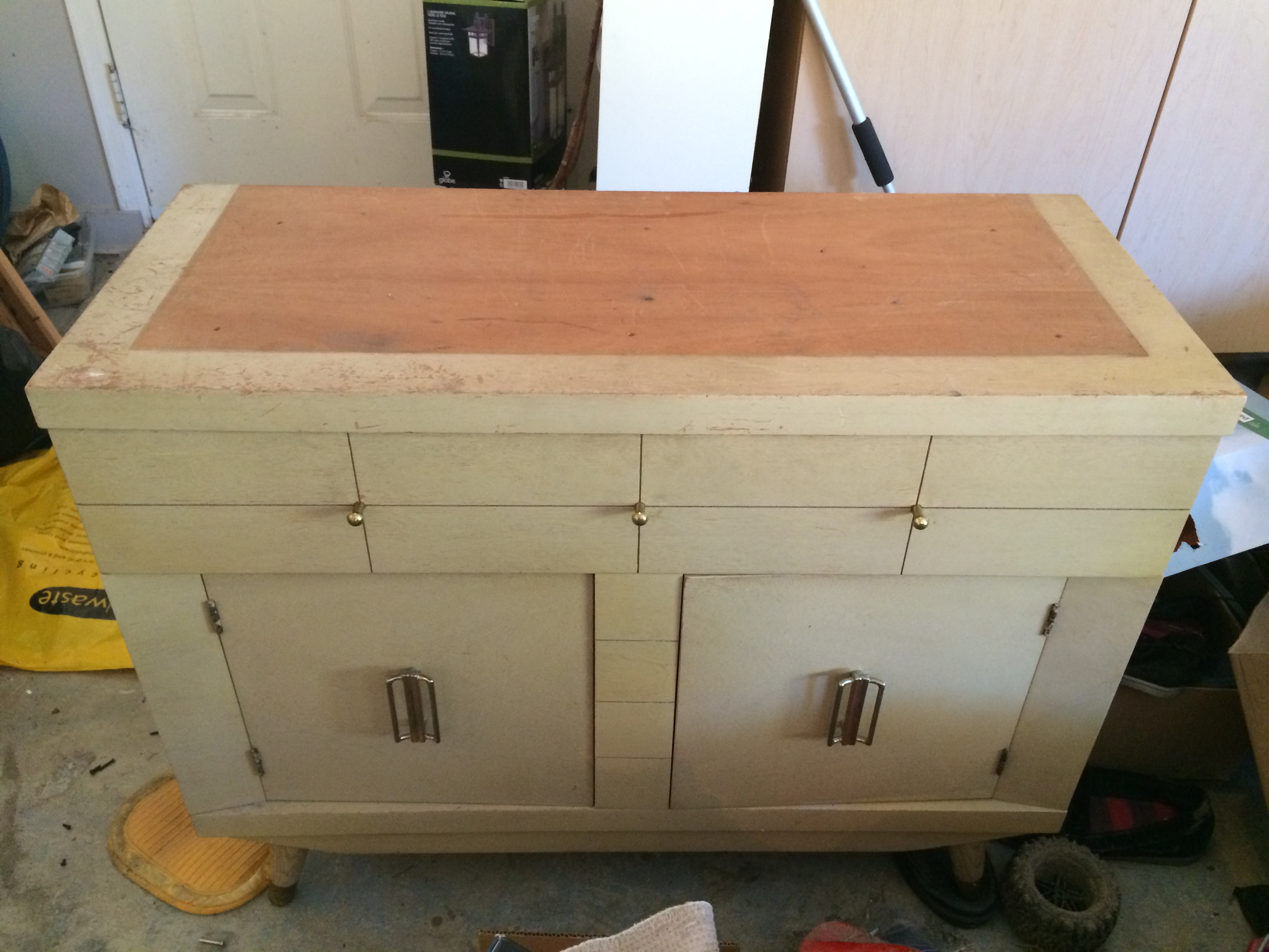 Side Table, The Before, Vintage, Harmony House, Chalk Paint, DIY