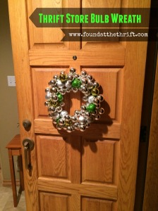 found at the thrift, thrift store bulb wreath, bulb wreath, DIY christmas wreath, DIY project, DIY christmas project, thrifting, thrifting for bulbs, christmas decor, christmas decorations, xmas decor, xmas decorations, DIY xmas decor, DIY xmas decorations, christmas bulbs, christmas wreath, xmas wreath, do it yourself,
