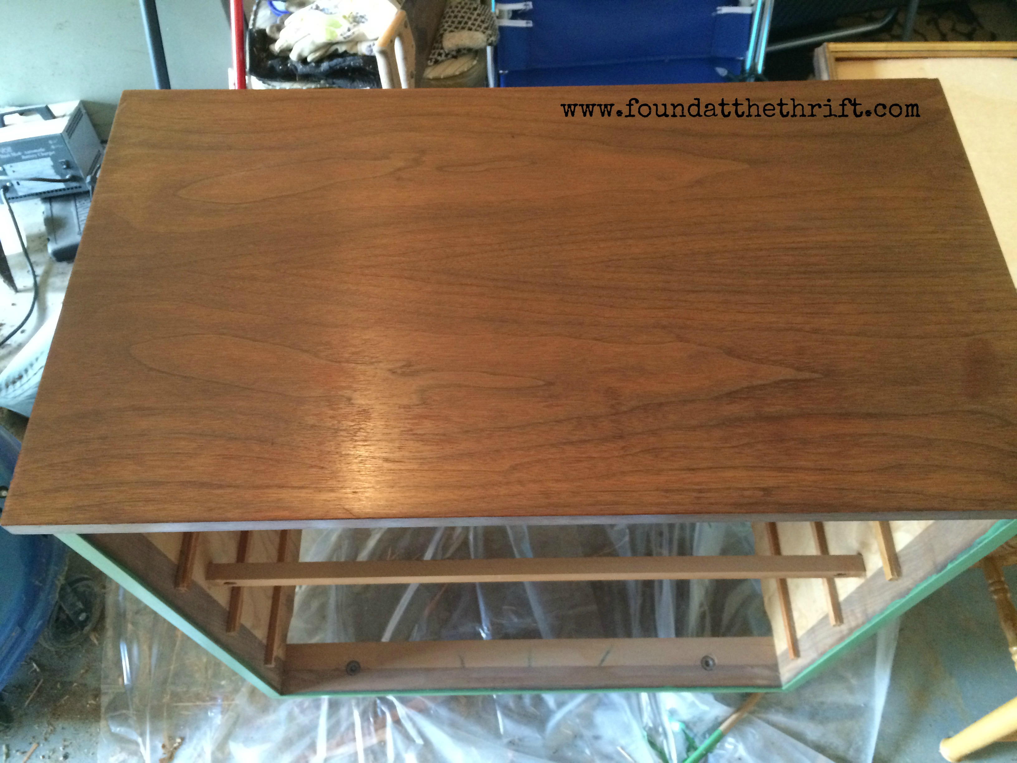 After Staining, Dresser Stained, Stained Dresser, Upcycle, Upcycled, DIY,  DIY
